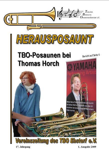 Herausposaunt 1/2009