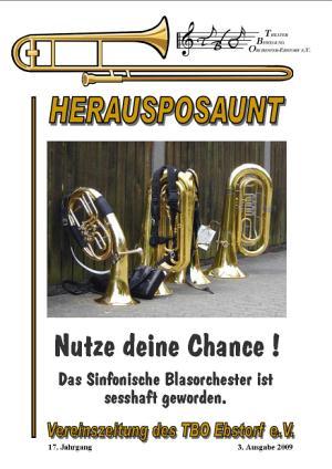 Herausposaunt 3/2009